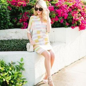 Mara Hoffman Flag Stripe Dress XS